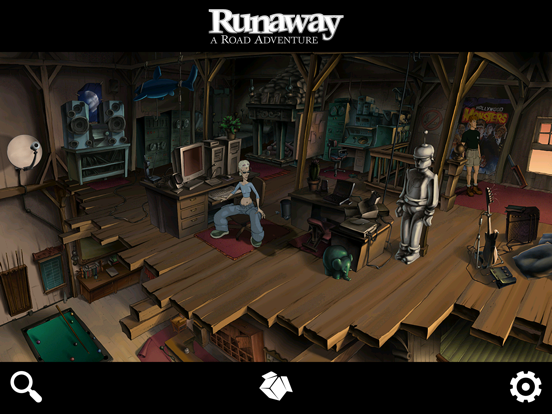 Runaway: A Road Adventure на iPad