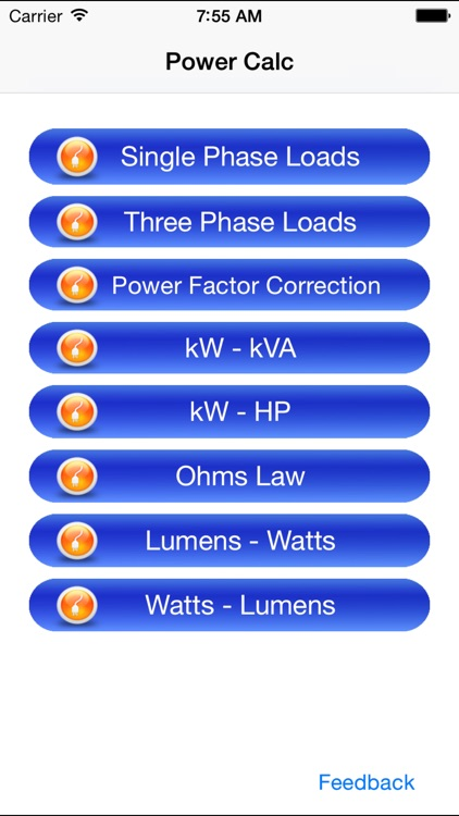 Electrical Power Calc