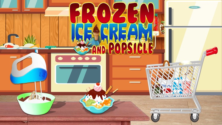 Frozen Ice Cream and Popsicle