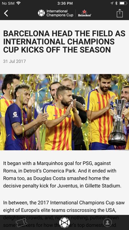 International Champions Cup screenshot-5