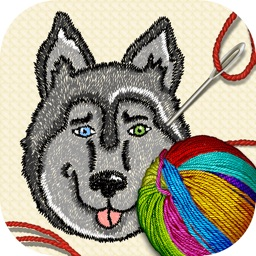 Cross Stitch Number Coloring