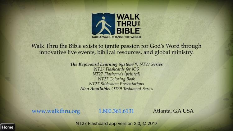 NT27 New Testament Flashcards screenshot-4