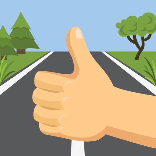 Supertrampr - hitchhike safer