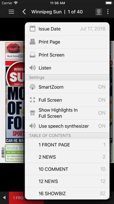 Winnipeg Sun ePaperScreenshot of 4