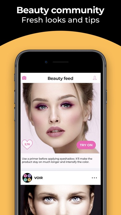Download Voir Beauty Cam - Selfie TryOn for Pc
