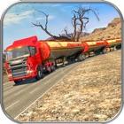 Oil Tanker Long Truck Cargo icon