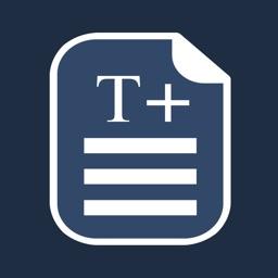 TextEdit+ RTF, TeX & Markdown
