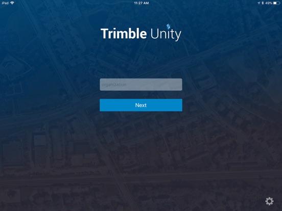 iPad Image of Trimble Unity