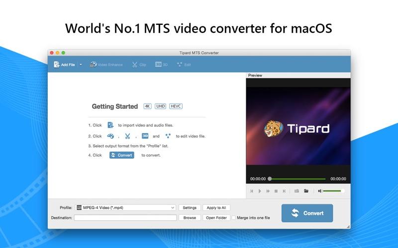 視頻轉換工具 Tipard MTS Converter