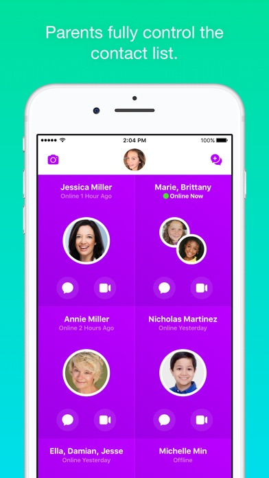 Messenger Kids screenshot 1