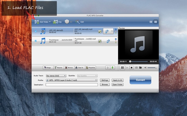 FLAC MP3 Converter on the Mac App Store