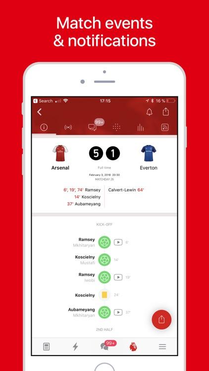 Arsenal Live — Goals & News screenshot-3