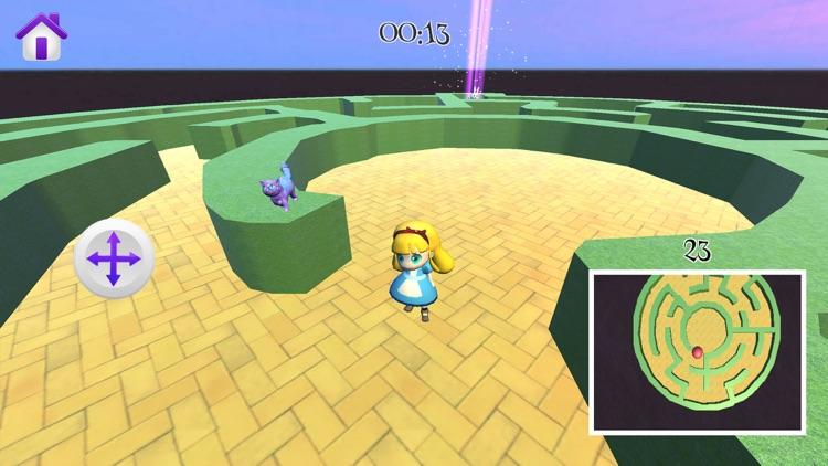 Alice in Wonderland - 3D Game screenshot-3