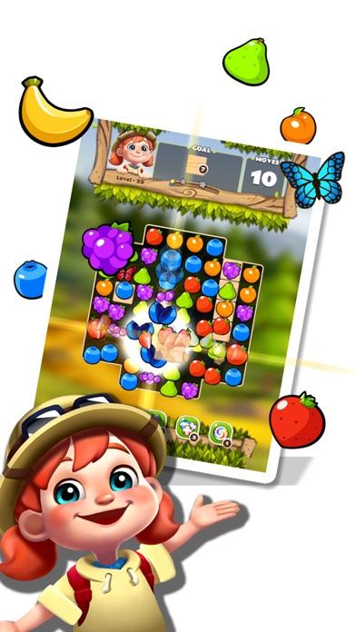 Fruits POP - Jungle Adventure screenshot 2