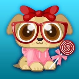 Pocket Pup Dress-Up - Makeover Game