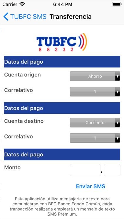 BFC Banco Fondo Común – TUBFC screenshot-3