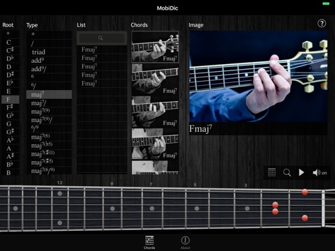 MobiDic - Guitar Chords Screenshots