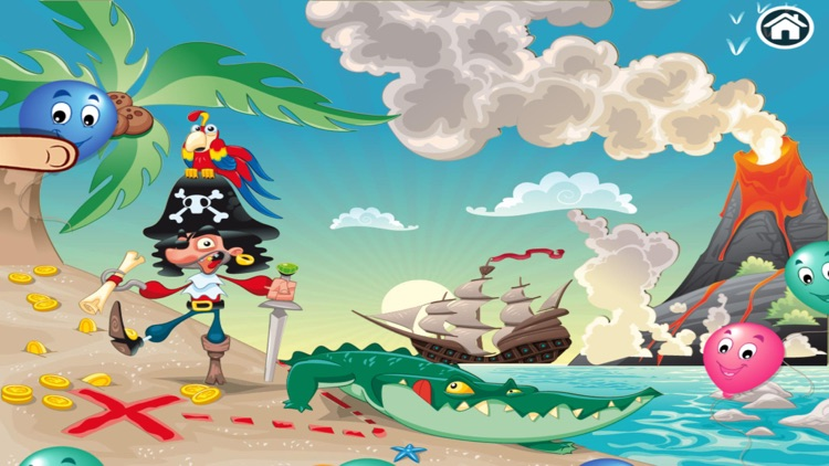 Treasure Island Puzzles screenshot-0