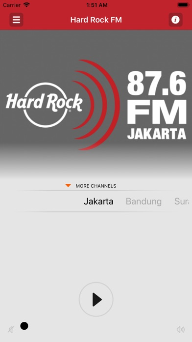 Hard Rock FM iPhone
