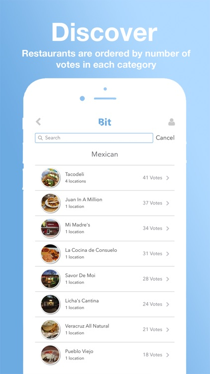 Bit - Food & Restaurant Finder