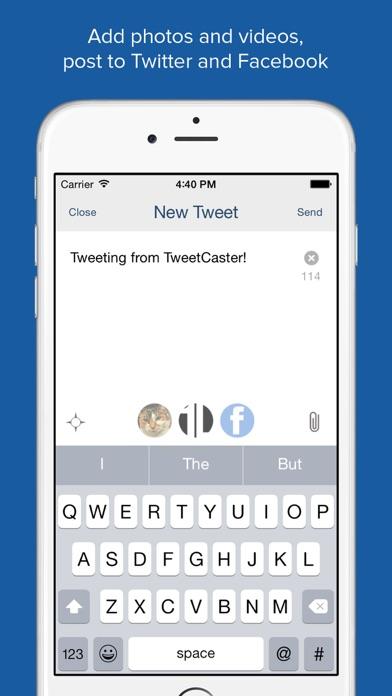 TweetCaster for Twitter screenshot four