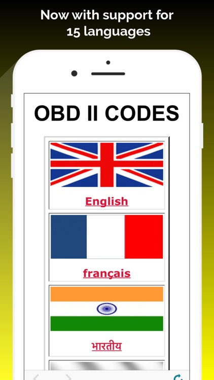 OBD ll Codes Multi Language
