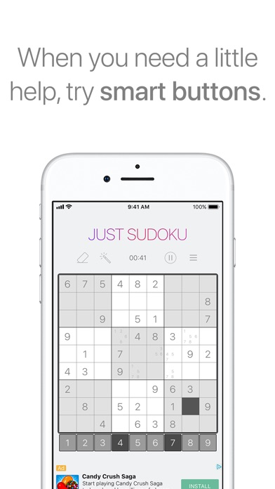 Just Sudoku: Puzzle Logic Game Скриншоты6