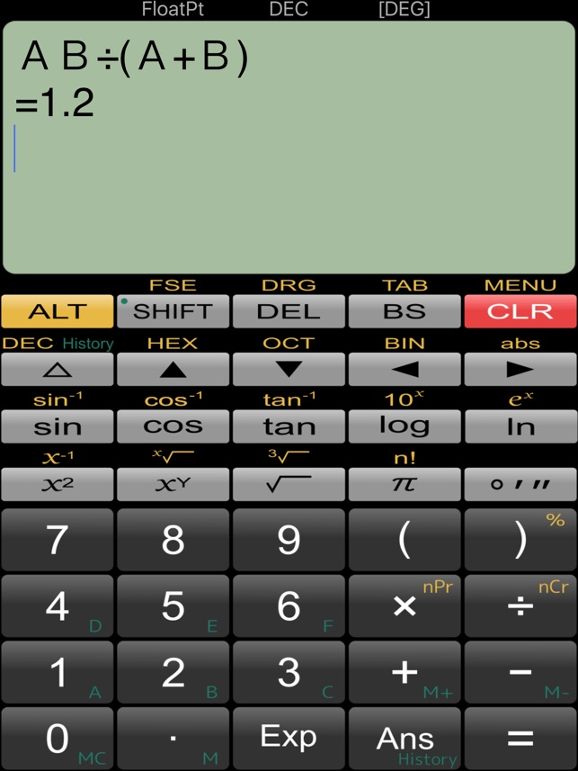 Panecal Plus Sci Calculator On The App Store