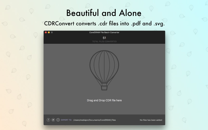 CDRConverter Screenshot - 1