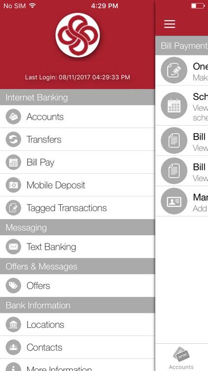 Grand Savings Bank Mobile screenshot-4