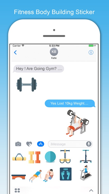 Just Fitness Stickers