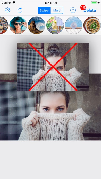 Quick Photo Delete  - クイック写真削除のスクリーンショット