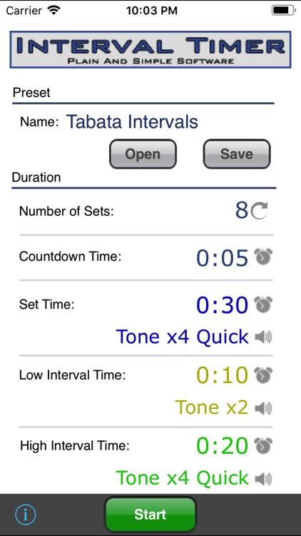 Interval Timer
