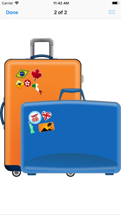 Luggage Stickers screenshot-4