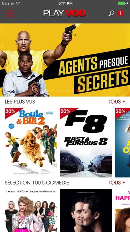 PlayVOD - Films et séries en streaming - VOD