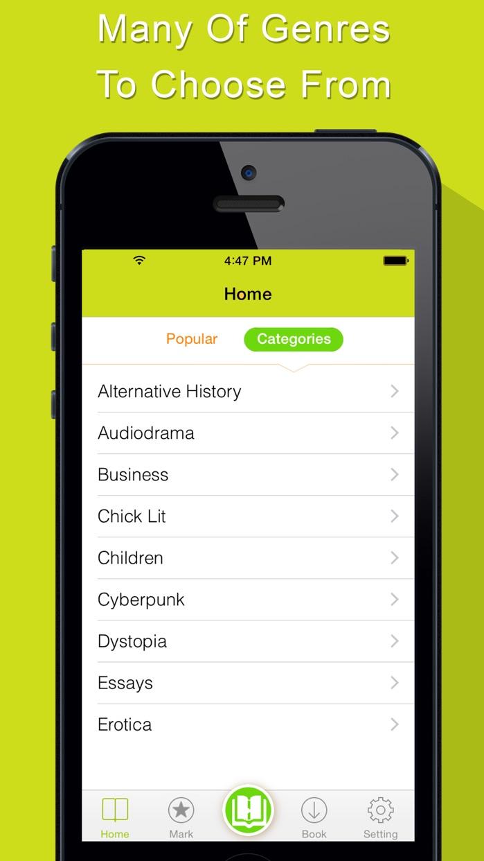 AudioBook - Audio Books Player Screenshot