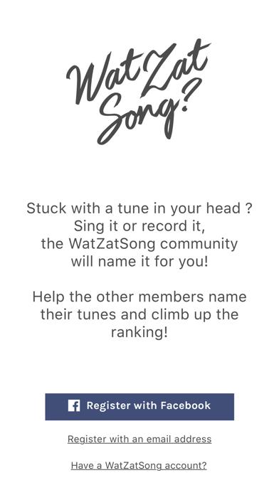 WatZatSong screenshot one