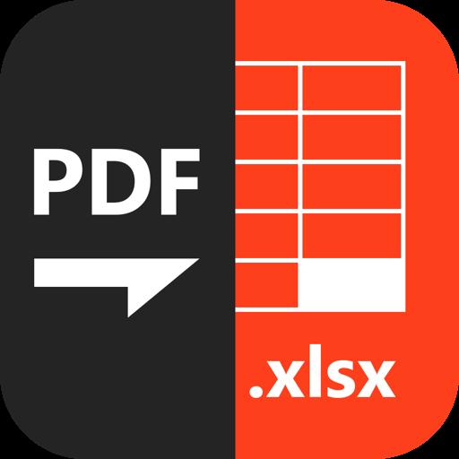 PDF to XLSX Master-Преобразование PDF в Excel