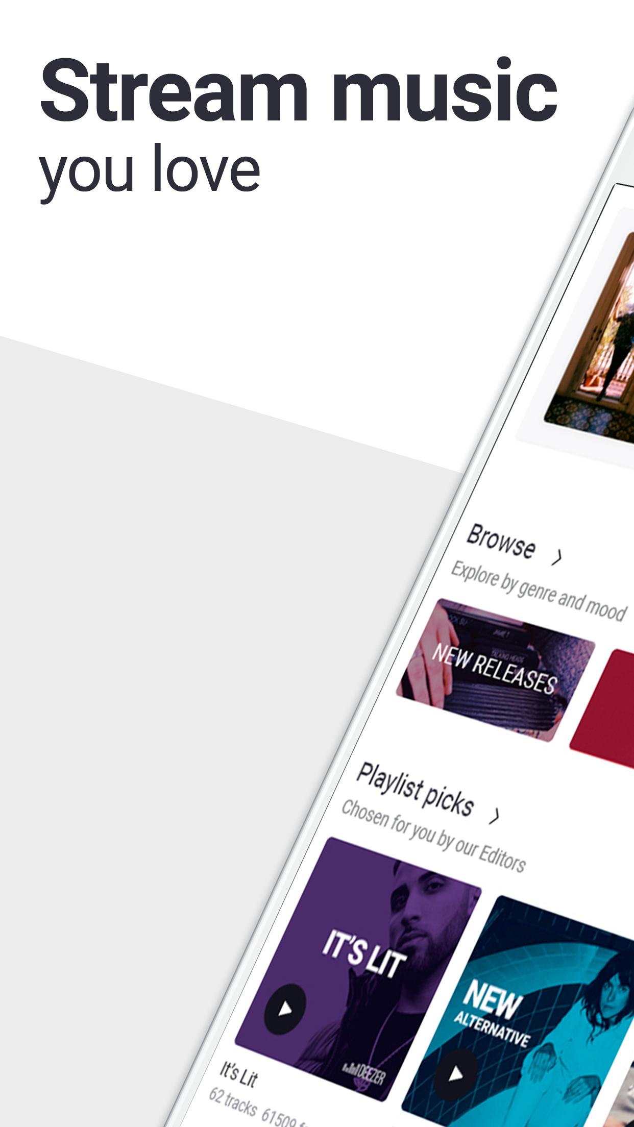 Deezer - Music Player & Radio Screenshot