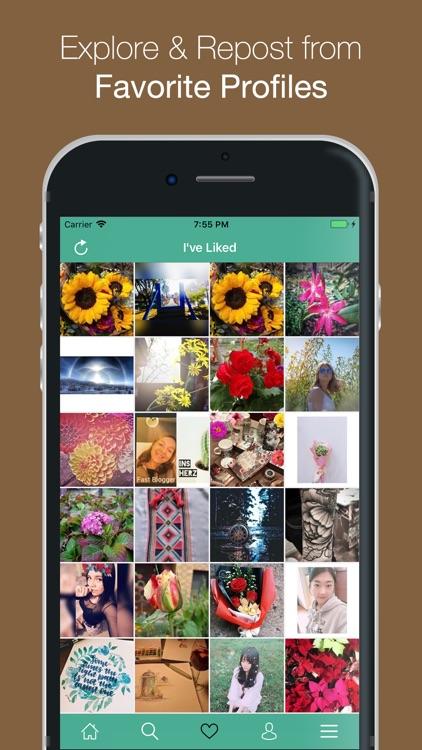 Grab - Repost Photos & Videos