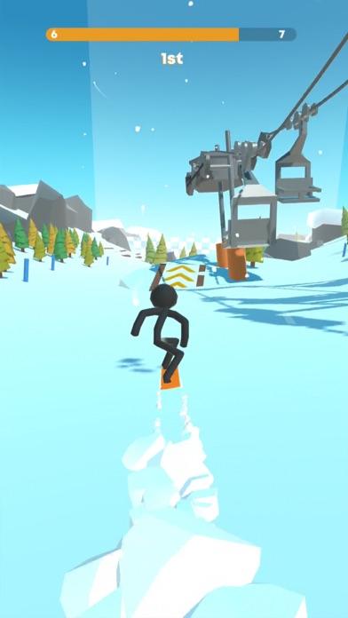 Stickman Snow Ride screenshot 1