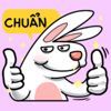 Thi Van Vo - Bunny Cute Stickers  artwork