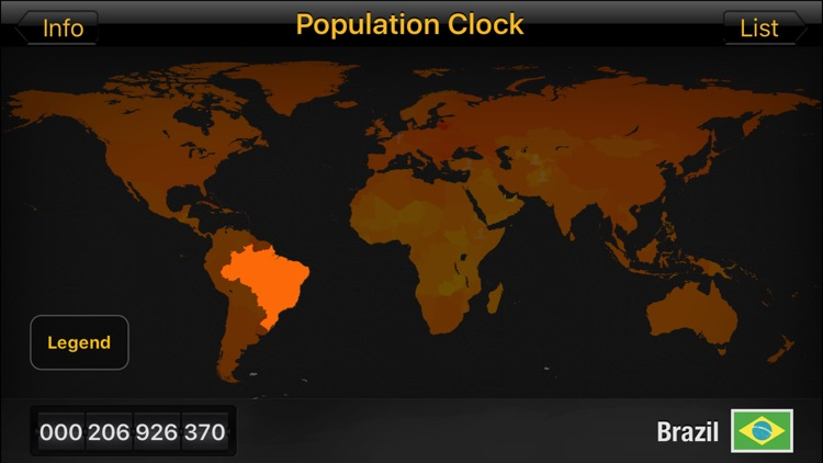Population Clock HD