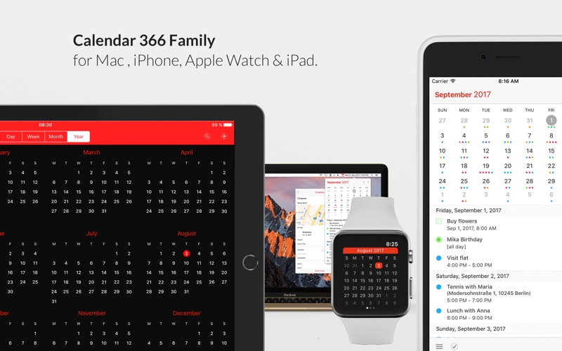 Calendar 366 II Screenshots