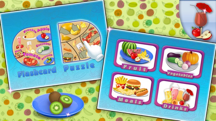 Food Learning Puzzle Activity screenshot-0