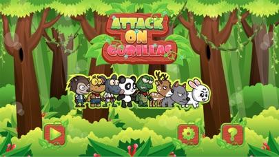 Angry animals attack gorillas Screenshot 1