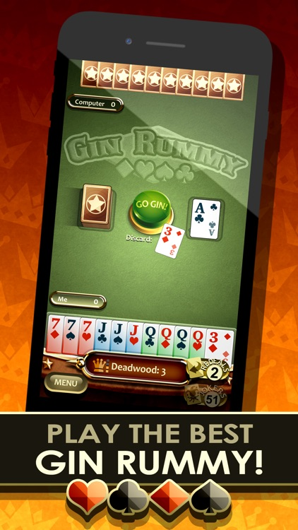 Gin Rummy Royale! screenshot-0