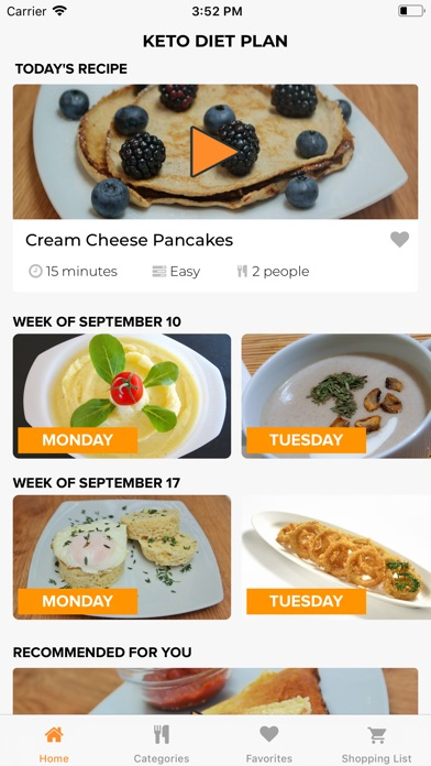 KetoDietApp▶ Screenshot