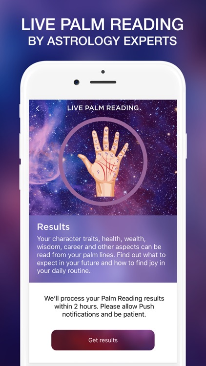 LIVE Palmistry & Horoscope screenshot-0