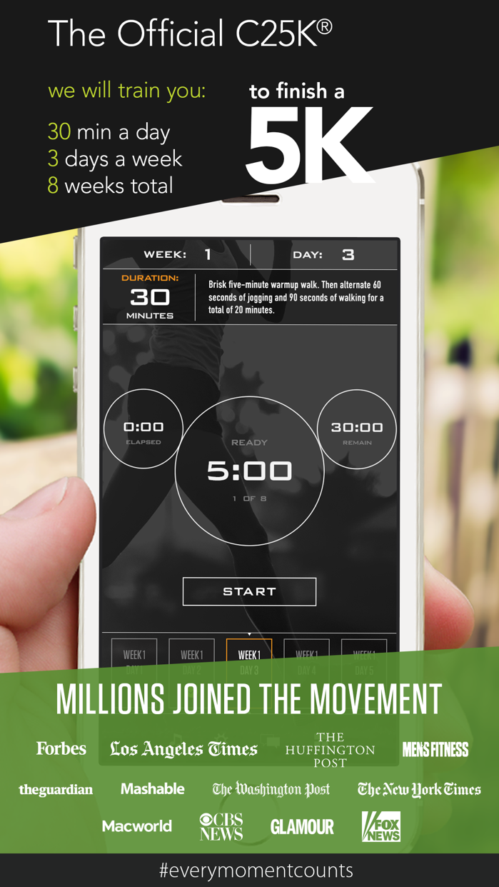C25K® 5K Trainer Screenshot